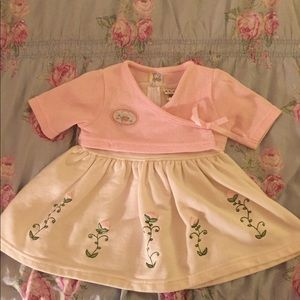 Sweet Floral baby dress with Cardigan